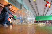 Благотворительный турнир по бамперболу среди детских домов Новосибирской области