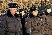 На Театральной площади Саратова прошел смотр гарнизонного развода полиции