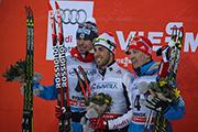 В «Демино» прошли спринтерские заезды лыжников на российском этапе кубка FIS