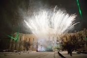 В память о защитниках Ленинграда суворовцы зажгли «Свечу в окне»