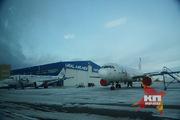 Открытие авиационного технического центра в Кольцово