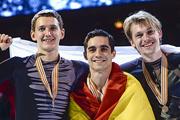 Максим Ковтун и Сергей Воронов завоевали серебро и бронзу чемпионата Европа по фигурному катанию