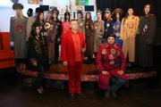 Показ модной коллекции московского дизайнера Дмитрия Цветкова «Парад» в Новосибирске