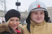 Спасатели во главе с министром устроили флэшмоб на коньках в парке Горького