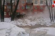 Коммунальная авария в Кемерове