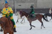 Масленица на коне в Благовещенске