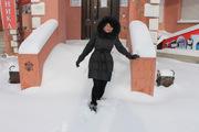 Рекордный снегопад в Благовещенске