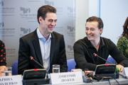 Дмитрий Дюжев и Сергей Безруков в Казани(пресс-конференция)