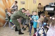23 февраля в детском саду «Ягодка»