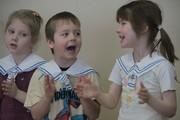 Празднование 23 февраля в детском саду «Искорка»