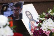 Фото с места убийства Бориса Немцова