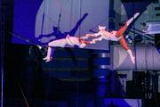 Репетиция акробатов перед Международным фестивалем циркового искусства в Ижевске