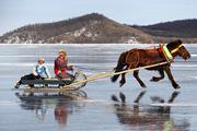 Фестиваль льда начался в Монголии