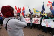 Ставрополь отметил годовщину присоединения Крыма к России митингом