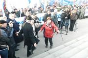 Митинг на Соборной площади в честь присоединения Крыма к России