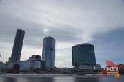 Жители Екатеринбурга наблюдали солнечное затмение
