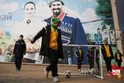 Игроки ФК «Кубань» маршировали по Краснодару