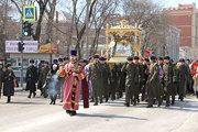 Благовещенцы вышли на крестный ход с Албазинской иконой