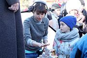350 иркутян вместе с Сергеем Безруковым и Мариной Александровой встречали Новый год в марте