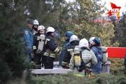 В Ставрополе горело здание краевой Думы
