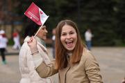 Ирина Караваева провела в центре Краснодара зарядку