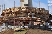 Как проходит реставрация Кургана Славы