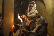 Благодатный огонь сошел в храме Гроба Господня