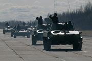 14 апреля в Пскове прошла первая репетиция парада Победы с военной техникой