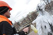Московские памятники привели в порядок к тёплому времени года