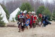 Девятый военно-исторический фестиваль «Ледовое побоище» прошел в Гдовском районе 19 апреля