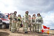 Учения МЧС: Тушение лесных пожаров с применением авиации