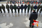 На территории 32-го военного городка прошла репетиция парадных расчетов