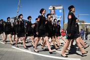Более 6 000 казаков прошли парадом по улицам Краснодара