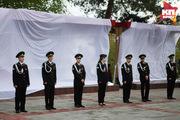 В Ставрополе на Крепостной горе открыли панно «Мы победили!»