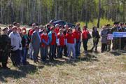 Всероссийской акции «Лес Победы» прошла в Нижнем Новгороде