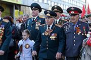 70 лет со Дня победы: Иркутск встречает 9 мая парадом, салютом и массовыми гуляниями