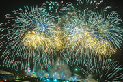 День Победы в Москве закончился праздничным концертом и салютом
