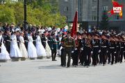 Парад кадетских корпусов Сибирского федерального округа в Новосибирске