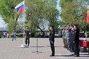 Эстафета спецподразделений памяти Героя России Алексея Рыбака прошла в Иркутске