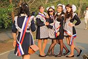 Последний звонок отмечают выпускники Иркутска