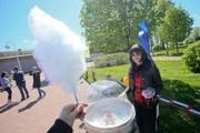 Празднование 90-летия «Комсомолки» в Петропавловской крепости