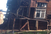 В центре Саратова на Симбирской горели частные дома: