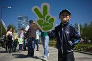«Зеленый марафон»: бегут профи и не только