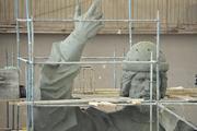 Наш фотокорреспондент Виктор Гусейнов посетил Скульптурный комбинат имени Вутечича