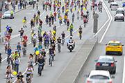 В столице прошел Пятый московский велопарад