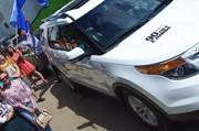Автотур «Комсомолка» открывает города» - отправление из Кремля 1 июня 2015 года