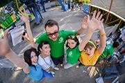 В Городском парке телеканал «Саратов 24» провел семейный праздник