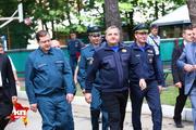 В Смоленске побывал главный спасатель страны