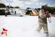 В ставропольском аэропорту тушили самолет