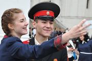 В Кремле московским кадетам вручили дипломы